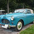 Austin a40 sport convertible carrosserie jensen 1951