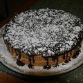 2009 01 19 Gâteau simple avec une ganache au chocolat