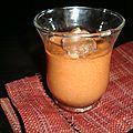 Mousse à la crème de marron et de châtaigne et au chocolat noir
