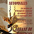 4.- 6 èmes Automnales 2013