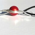 pendentif wire rouge 2