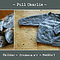 Pull gris Charlie