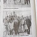Paru dans la presse : la rencontre des petites marmottes de dimanche 15 avril