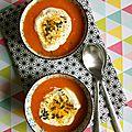 Velouté de carottes aux oranges