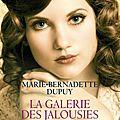 La galerie des jalousies - marie-bernadette dupuy.