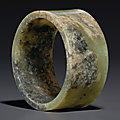 Chinese Neolithic period jade at Christie's New York, 23-24 september 2021