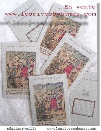 Marimerveille pochettes souvenir de promenade 1