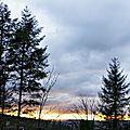 Sunset Snoqualmie Falls