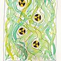 Tiges vertes 8/25-dessin et haïku n°241