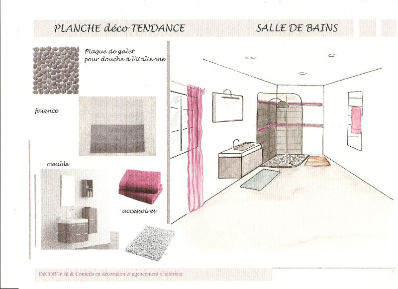 planche deco dessin salle de bain photo de croquis dessins planches deco decor 39 in. Black Bedroom Furniture Sets. Home Design Ideas
