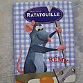 <b>Ratatouille</b> Rémy. Livre en carton