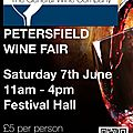 The petersfield wine fair