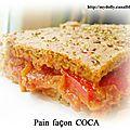 Pain en coca
