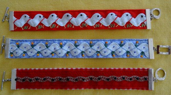 Bracelets croquet