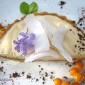 Tartelettes mousseuses au baileys de mango coco et son caramel au beurre salé