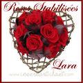 bouquet de mariée roses stabilisées LARA