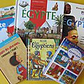 <b>Egypte</b> : nos lectures
