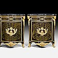 Pair of boulle encoignures