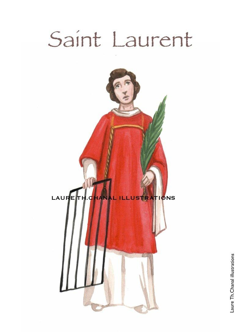 st Laurent, diacre