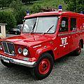 Jeep J-3000 Kaiser Gladiator <b>firetruck</b>, 1966
