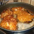 Poulet frit épicé, comme au kfc