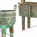 Very Rare Archaic <b>Bronzes</b> Lead Bonhams Fine Chinese Art Sale in London