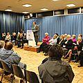 <b>Municipales</b> <b>2014</b> à Avranches. Compte-rendu de la réunion de Guénhaël Huet, maire sortant - jeudi 27 février <b>2014</b>