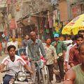 Rickshaw Velo - Main Bazar - Delhi.