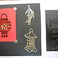 Kirigami cérémonie du thé