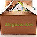 La <b>DEGUSTA</b> BOX Saine et Gourmande!