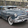 CHEVROLET Fleetline DeLuxe 2door fastback Sedan 1951