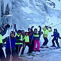 00413) ski jaunes