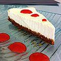 Cheese cake vanille / fraise