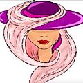 le chapeau <b>violet</b> - Erma Louise Bombeck