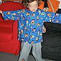 Un pyjama super héros