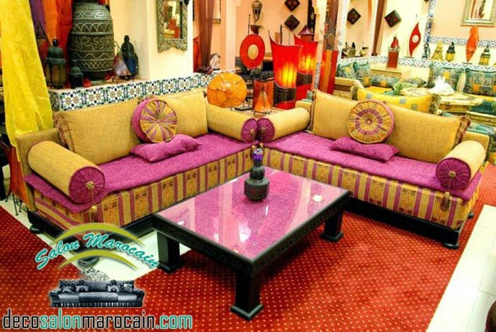 Beautiful Salon Marocain Moderne Montreal Pictures - Awesome ...
