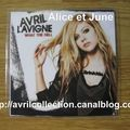 CD promotionnel What The Hell-version anglaise (2011)
