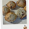 Muffins à la banane, à la noisette et aux pépites de chocolat au lait (vidéo)