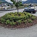 Rond-point à Forde (Norvège)