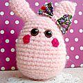 Diy de pâques ~ un lapin au crochet