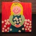 La petite fille et les paquerettes de stéphane - octobre 2005