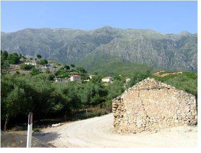 albanie paysage