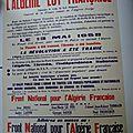 Front Algérie Française F. A. F.
