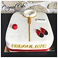 Gâteau naissance thème marocain