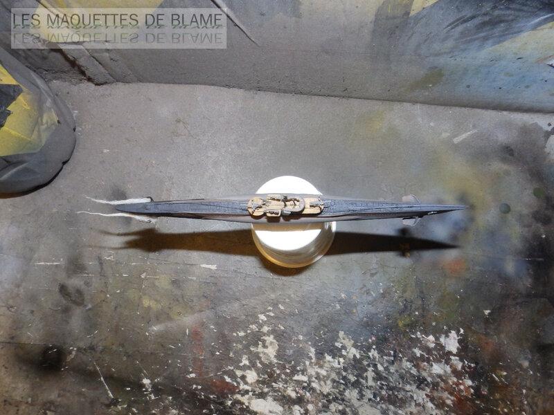 UNTERSEEBOOT TYPE VIIC TURM II U-673 [MIRAGE HOBBY 1/400] (En plongée) 120136978
