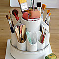 Tourniquet à pinceaux récup' - <b>DIY</b> paintbrushes holder