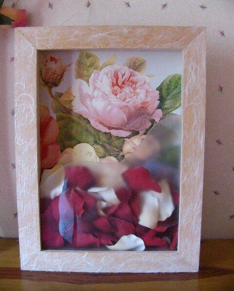 Boite pétales de roses