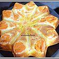 Quand un gâteau au yaourt se prend pour une étoile....