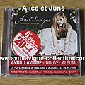 CD Goodbye Lullaby-édition simple-version française (2011)