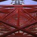 Détail de la flèche (longueur 68m)
